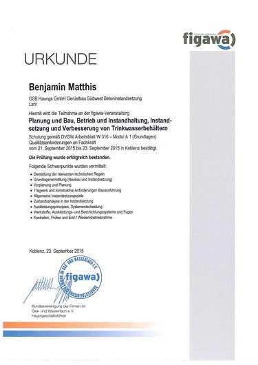 GSB Haungs GmbH - Zertifikate